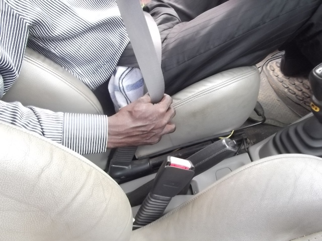Use your seatbelt: It minimises impact and fatality in case of accident