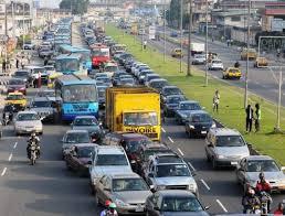 Peculiar Lagos traffic