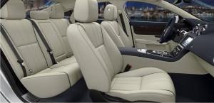 Inside Jaguar XJ, Maduka's private car