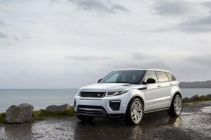 Range Rover Evoque: one of the cars Maduka loves driving