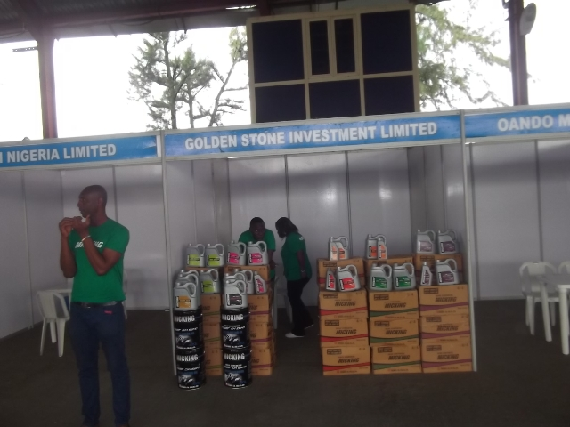 Golden Stone Investment showcasing lubricants