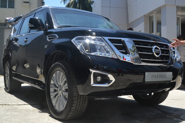 Armored Nissan Patrol Y62 Series